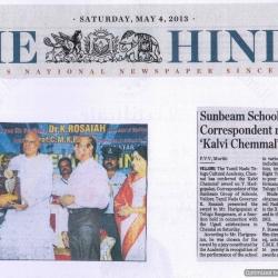 Kalvi Chemmal Award